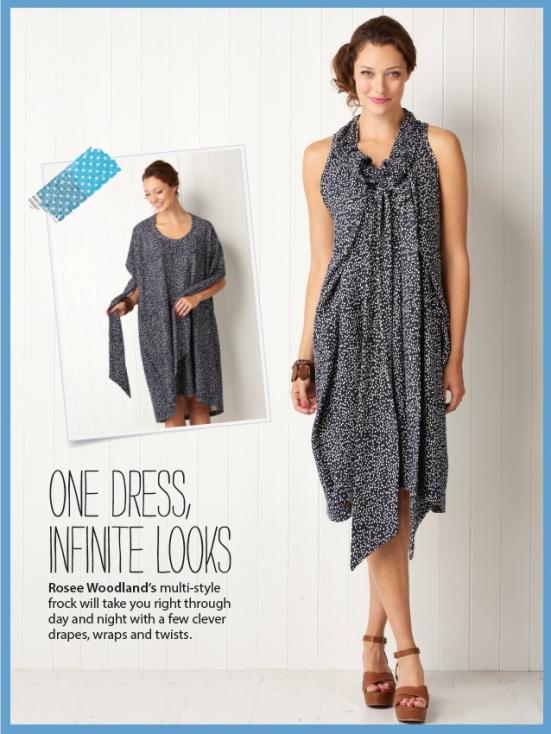 Self-measure infinity dress